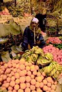 Daltonized image of market stall